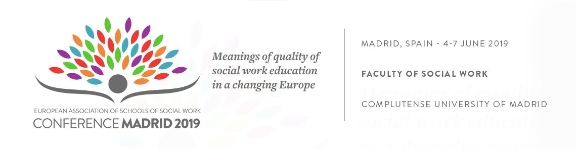 Congreso Europeo de Escuelas de Trabajo Social 2019